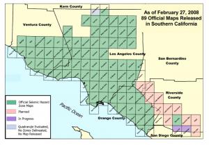 Southern California Seismic Hazard Areas