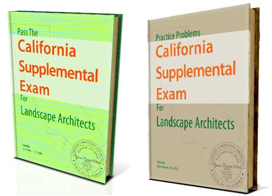 CSE Pro Package - Best resource for the California Supplemental Exam for landscape architects