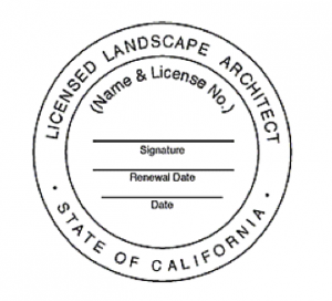 Related keywords suggestions for landscape architect license for New york state architect stamp