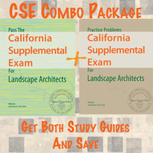 California Supplemental Exam for Landscape Architects Study Guide